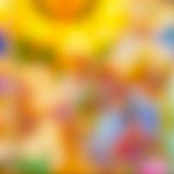 背景被弄脏的五颜六色 免版税库存图片