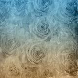 背景被构造的grunge玫瑰 免版税库存图片