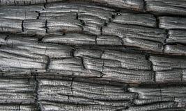 背景被烧焦的木头 免版税库存照片