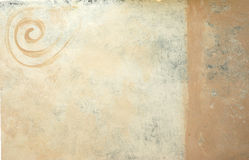 背景被绘的螺旋 免版税库存照片