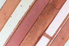 背景被风化的木板条的纹理样式 免版税图库摄影