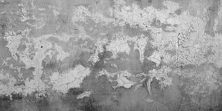 背景被绘的粗砺的膏药打破的肮脏的老墙壁  免版税图库摄影