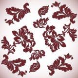 背景装饰花卉 向量例证