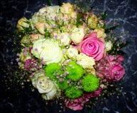 背景装饰高雅花粉红色浪漫婚礼 免版税图库摄影