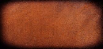 背景褐色您设计的皮革 免版税库存照片