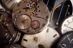 背景计时机械老 免版税库存照片
