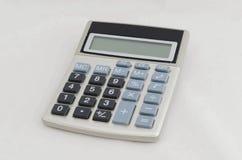 背景计算器电子例证查出的向量白色 免版税库存照片