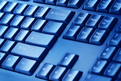 背景计算机详细资料关键董事会 免版税库存照片