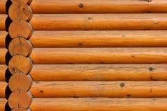 背景记录木的墙壁 库存图片