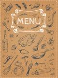背景设计菜单蔬菜 传染媒介在海报的食物剪影 皇族释放例证