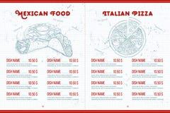 背景设计菜单蔬菜 免版税库存照片