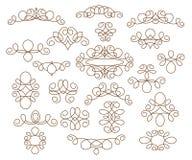 背景设计要素空白四的雪花 也corel凹道例证向量 装饰图案 browne 皇族释放例证