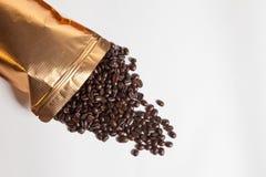 背景豆咖啡例证 库存图片