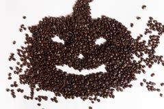 背景豆咖啡例证 免版税库存照片
