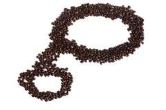 背景豆咖啡例证 免版税库存图片