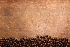 背景豆咖啡复制横向取向拥有您空间的文本 图库摄影
