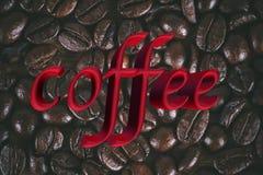 背景豆咖啡纹理 向量例证