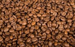 背景豆咖啡 免版税库存照片