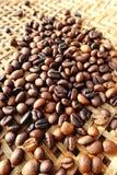 背景豆美好的咖啡烹调相关纹理 免版税库存照片