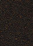 背景豆被弄脏的咖啡渐近有选择性的重点 免版税库存照片