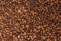 背景豆结束咖啡纹理 库存照片