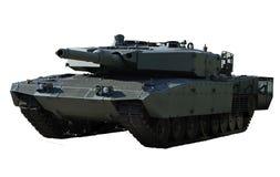背景豹子牌坦克白色 图库摄影