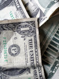 背景货币一 免版税库存照片
