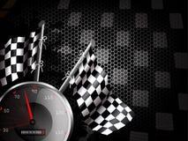 背景赛跑的速度 库存例证