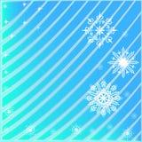 背景路雪冬天 图库摄影