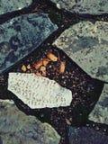 背景路面石头纹理 库存图片
