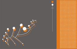 背景连接数技术 免版税图库摄影