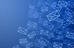 背景邮件 向量例证