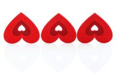 背景重点红色三白色 日s华伦泰 库存图片