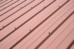 背景金属屋顶 免版税图库摄影
