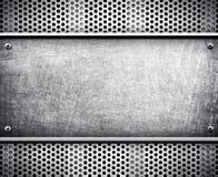 背景金属模板 向量例证