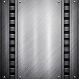 背景金属模板 免版税图库摄影