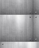 背景金属模板 库存例证