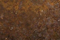 背景金属生锈了有用的纹理 免版税库存照片