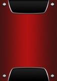 背景金属红色 库存图片