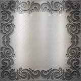 背景金属 免版税库存图片