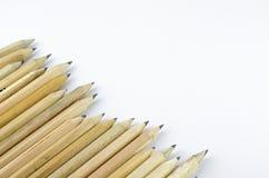 背景铅笔空白木 库存图片