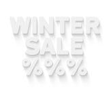 背景销售额文本向量冬天 免版税库存照片