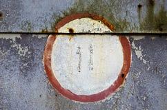 背景门停车库减速火箭的锡 库存图片