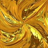 背景闪烁的金子 库存例证