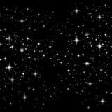 背景闪闪发光星形 库存图片