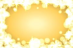 背景闪闪发光金子 向量例证