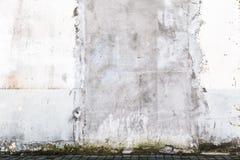 背景难看的东西外部老肮脏的墙壁 库存照片