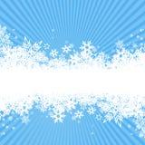 背景雪花向量 库存图片