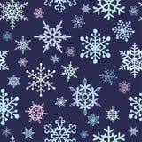 背景雪花 向量例证