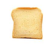 背景面包查出的白色 库存照片